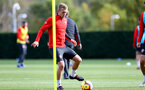 SOUTHAMPTON, ENGLAND - NOVEMBER 02: James Ward-Prowse during a Southampton FC training session at the Staplewood Campus on November 2, 2018 in Southampton, England. (Photo by Matt Watson/Southampton FC via Getty Images)