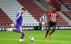 SOUTHAMPTON, ENGLAND - NOVEMBER 02: Jonathan Afolabi (right) during the U23s Premier League 2 match between Southampton FC and Westbrom Albion FC, 2018 in Southampton, England. (Photo by James Bridle - Southampton FC/Southampton FC via Getty Images)