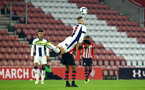 SOUTHAMPTON, ENGLAND - NOVEMBER 02: Marcus Barnes during the U23s Premier League 2 match between Southampton FC and Westbrom Albion FC, 2018 in Southampton, England. (Photo by James Bridle - Southampton FC/Southampton FC via Getty Images)