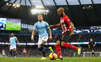 MANCHESTER, ENGLAND - NOVEMBER 04: Nathan Redmond of Southampton during the Premier League match between Manchester City and Southampton FC at Etihad Stadium on November 4, 2018 in Manchester, United Kingdom. (Photo by Matt Watson/Southampton FC via Getty Images)