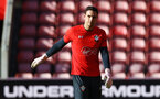 SOUTHAMPTON, ENGLAND - NOVEMBER 07: Alex McCarthy during a Southampton FC training session at St Mary's Stadium on November 7, 2018 in Southampton, England. (Photo by James Bridle - Southampton FC/Southampton FC via Getty Images)