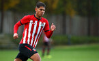 SOUTHAMPTON, ENGLAND - NOVEMBER 10: Benni Smales-Braithwaite during the U18 Premier League match between Southampton FC and Stoke City FC pictured at Staplewood Complex on November 10, 2018 in Southampton, England. (Photo by James Bridle - Southampton FC/Southampton FC via Getty Images)