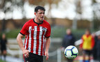 SOUTHAMPTON, ENGLAND - NOVEMBER 10: Will Ferry during the U18 Premier League match between Southampton FC and Stoke City FC pictured at Staplewood Complex on November 10, 2018 in Southampton, England. (Photo by James Bridle - Southampton FC/Southampton FC via Getty Images)