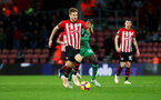 SOUTHAMPTON, ENGLAND - NOVEMBER 10: Stuart Armstrong of Southampton during the Premier League match between Southampton FC and Watford FC at St Mary's Stadium on November 10, 2018 in Southampton, United Kingdom. (Photo by Chris Moorhouse/Southampton FC via Getty Images)