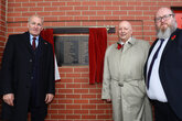 Saints unveil Remembrance memorial