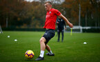 SOUTHAMPTON, ENGLAND - NOVEMBER 15: James Ward-Prowse during a Southampton FC training session at the Staplewood Campus on November 15, 2018 in Southampton, England. (Photo by Matt Watson/Southampton FC via Getty Images)
