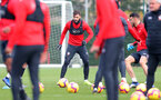 SOUTHAMPTON, ENGLAND - NOVEMBER 22: Charlie Austin during a Southampton FC training session at the Staplewood Campus on November 22, 2018 in Southampton, England. (Photo by Matt Watson/Southampton FC via Getty Images)