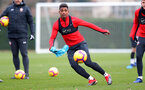 SOUTHAMPTON, ENGLAND - NOVEMBER 22: Mario Lemina during a Southampton FC training session at the Staplewood Campus on November 22, 2018 in Southampton, England. (Photo by Matt Watson/Southampton FC via Getty Images)
