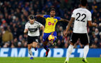 LONDON, ENGLAND - NOVEMBER 24: Mario Lemina of Southampton during the Premier League match between Fulham FC and Southampton FC at Craven Cottage on November 24, 2018 in London, United Kingdom. (Photo by Matt Watson/Southampton FC via Getty Images)