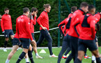SOUTHAMPTON, ENGLAND - NOVEMBER 29: Jannik Vestergaard during a Southampton FC training session at the Staplewood Campus on November 29, 2018 in Southampton, England. (Photo by Matt Watson/Southampton FC via Getty Images)