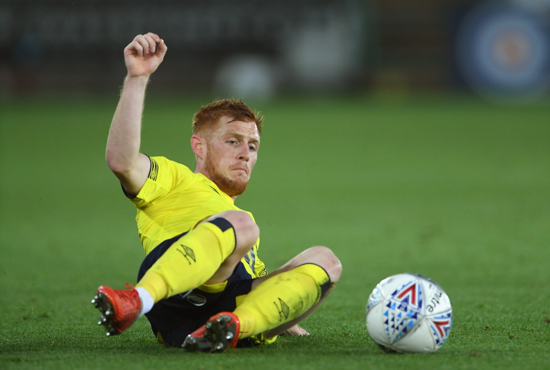 SWANSEA, WALES - OCTOBER 23:  Blackburn player Harrison Reed in action  during the Sky bet Championship EFL match between Swansea City v Blackburn Rovers at Liberty Stadium on October 23, 2018 in Swansea, Wales.  (Photo by Stu Forster/Getty Images)