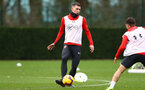 SOUTHAMPTON, ENGLAND - DECEMBER 03: Pierre-Emile Hojbjerg during a Southampton FC training session at the Staplewood Campus on December 3, 2018 in Southampton, England. (Photo by Matt Watson/Southampton FC via Getty Images)