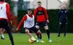 SOUTHAMPTON, ENGLAND - DECEMBER 03: Mohamed Elyounoussi during a Southampton FC training session at the Staplewood Campus on December 3, 2018 in Southampton, England. (Photo by Matt Watson/Southampton FC via Getty Images)