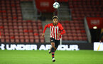 SOUTHAMPTON, ENGLAND - NOVEMBER 04: Enzo Robise during the U18's FA Youth Cup match between Southampton FC and Rotherham United pictured at St Mary's Stadium on December 4, 2018 in Southampton, England. (Photo by James Bridle - Southampton FC/Southampton FC via Getty Images)