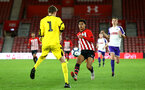 SOUTHAMPTON, ENGLAND - NOVEMBER 04: Chrisitan Norton (right) during the U18's FA Youth Cup match between Southampton FC and Rotherham United pictured at St Mary's Stadium on December 4, 2018 in Southampton, England. (Photo by James Bridle - Southampton FC/Southampton FC via Getty Images)