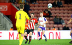 SOUTHAMPTON, ENGLAND - NOVEMBER 04: Will Ferry (middle) during the U18's FA Youth Cup match between Southampton FC and Rotherham United pictured at St Mary's Stadium on December 4, 2018 in Southampton, England. (Photo by James Bridle - Southampton FC/Southampton FC via Getty Images)