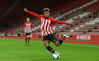 SOUTHAMPTON, ENGLAND - NOVEMBER 04: Enzo Robise (middle) during the U18's FA Youth Cup match between Southampton FC and Rotherham United pictured at St Mary's Stadium on December 4, 2018 in Southampton, England. (Photo by James Bridle - Southampton FC/Southampton FC via Getty Images)
