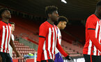 SOUTHAMPTON, ENGLAND - NOVEMBER 04: Alex Jankewitz ahead of Kick off for the U18's FA Youth Cup match between Southampton FC and Rotherham United pictured at St Mary's Stadium on December 4, 2018 in Southampton, England. (Photo by James Bridle - Southampton FC/Southampton FC via Getty Images)