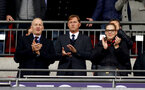 LONDON, ENGLAND - DECEMBER 05: the new manager of Southampton Ralph Hasenhüttl(centre) during the Premier League match between Tottenham Hotspur and Southampton FC at Tottenham Hotspur Stadium on December 5, 2018 in London, United Kingdom. (Photo by Matt Watson/Southampton FC via Getty Images)