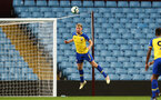 BIRMINGHAM, ENGLAND - DECEMBER 07: Aaron OÕDriscoll header during the match between Aston Villa FC and Southampton FC pictured at Villa Park Stadium  on December 7, 2018 in Birmingham, England. (Photo by James Bridle - Southampton FC/Southampton FC via Getty Images) BIRMINGHAM, ENGLAND - DECEMBER 07: Aaron O'Driscoll header during the match between Aston Villa FC and Southampton FC pictured at Villa Park Stadium  on December 7, 2018 in Birmingham, England. (Photo by James Bridle - Southampton FC/Southampton FC via Getty Images)