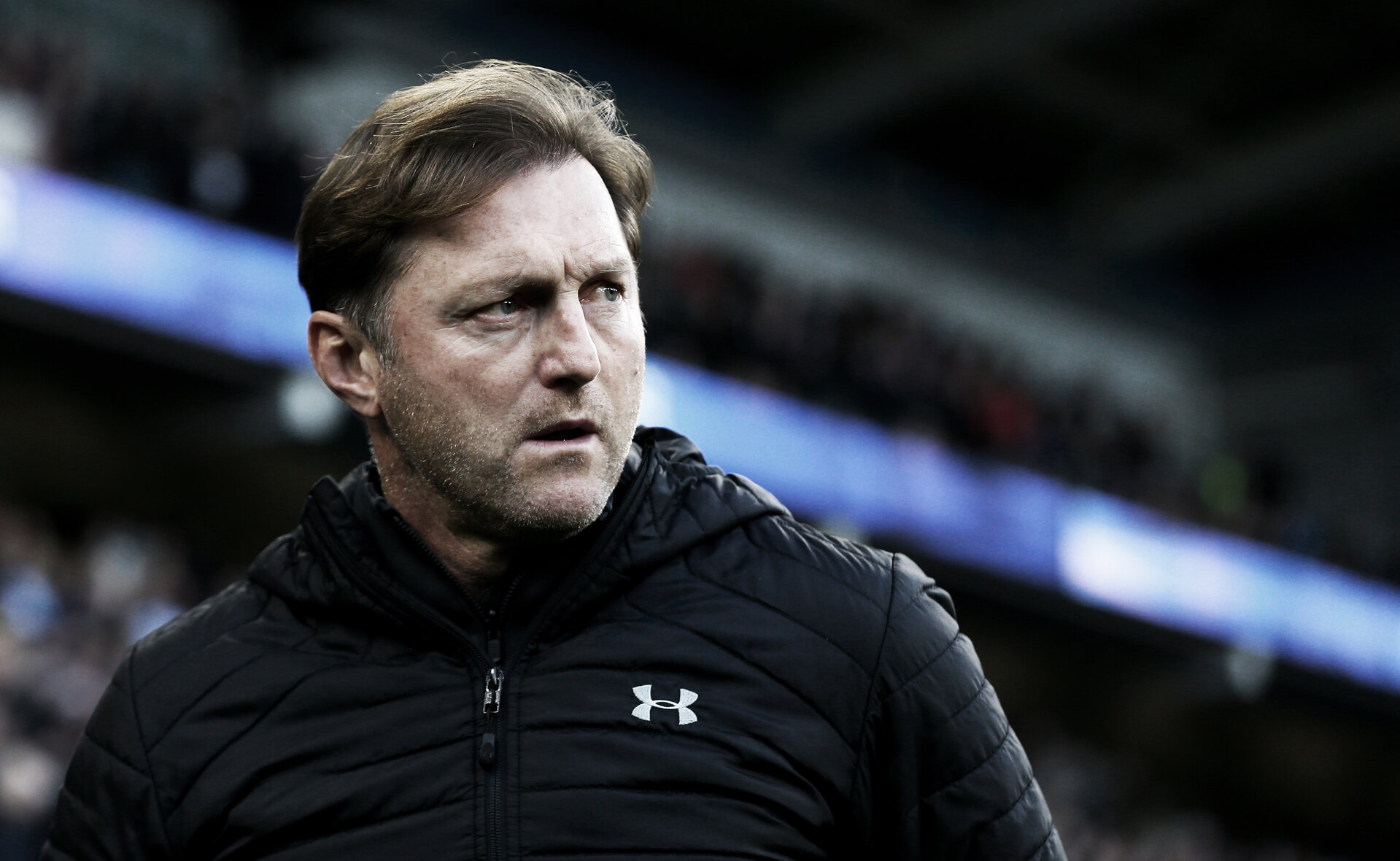 CARDIFF, WALES - DECEMBER 08: Ralph Hasenhüttl of Southampton during the Premier League match between Cardiff City and Southampton FC at Cardiff City Stadium on December 8, 2018 in Cardiff, United Kingdom. (Photo by Matt Watson/Southampton FC via Getty Images)