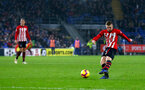 CARDIFF, WALES - DECEMBER 08: Matt Targett of Southampton during the Premier League match between Cardiff City and Southampton FC at Cardiff City Stadium on December 8, 2018 in Cardiff, United Kingdom. (Photo by Matt Watson/Southampton FC via Getty Images)