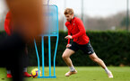 SOUTHAMPTON, ENGLAND - DECEMBER 12: Stuart Armstrong during a Southampton FC training session at the Staplewood Campus on December 12, 2018 in Southampton, England. (Photo by Matt Watson/Southampton FC via Getty Images)