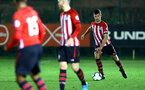 SOUTHAMPTON, ENGLAND - DECEMBER 14: Tom O'Connor (right) during the U23s PL2 match between Southampton FC and Newcastle United pictured at Staplewood Training Ground on December 14, 2018 in Southampton England. (Photo by James Bridle - Southampton FC/Southampton FC via Getty Images)