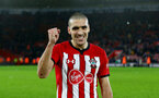 SOUTHAMPTON, ENGLAND - DECEMBER 16: Oriol Romeu of Southampton during the Premier League match between Southampton FC and Arsenal FC at St Mary's Stadium on December 15, 2018 in Southampton, United Kingdom. (Photo by Matt Watson/Southampton FC via Getty Images)