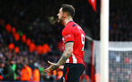 SOUTHAMPTON, ENGLAND - DECEMBER 16: Danny Ings scores (middle) and celebrates during the Premier League match between Southampton FC and Arsenal FC at St Mary's Stadium on December 16, 2018 in Southampton, United Kingdom. (Photo by James Bridle - Southampton FC/Southampton FC via Getty Images)