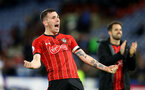 HUDDERSFIELD, ENGLAND - DECEMBER 22:  Pierre-Emile Hojbjerg of Southampton during the Premier League match between Huddersfield Town and Southampton FC at John Smith's Stadium on December 22, 2018 in Huddersfield, United Kingdom. (Photo by Matt Watson/Southampton FC via Getty Images)