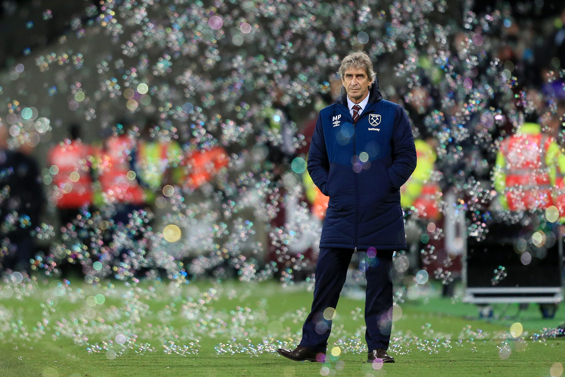 LONDON, ENGLAND - DECEMBER 08: Manuel Pellegrini, Manager of West Ham United looks on after the Premier League match between West Ham United and Crystal Palace at London Stadium on December 8, 2018 in London, United Kingdom.  (Photo by Stephen Pond/Getty Images)