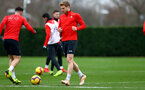 SOUTHAMPTON, ENGLAND - DECEMBER 25: Stuart Armstrong during a Southampton FC training session at the Staplewood Campus on December 25, 2018 in Southampton, England. (Photo by Matt Watson/Southampton FC via Getty Images)