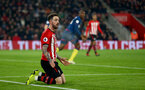 SOUTHAMPTON, ENGLAND - DECEMBER 27:  Danny Ings of Southampton during the Premier League match between Southampton FC and West Ham United at St Mary's Stadium on December 27, 2018 in Southampton, United Kingdom. (Photo by Matt Watson/Southampton FC via Getty Images)