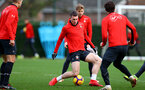 SOUTHAMPTON, ENGLAND - JANUARY 01: Pierre-Emile Hojbjerg of Southampton during a Southampton FC training session at the Staplewood Campus on January 01, 2019 in Southampton, England. (Photo by Matt Watson/Southampton FC via Getty Images)