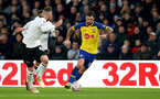 DERBY, ENGLAND - JANUARY 05: Charlie Austin ofao during the FA Cup Third Round match between Derby County and Southampton FC at Pride Park on January 05, 2019 in Derby, United Kingdom. (Photo by Matt Watson/Southampton FC via Getty Images)