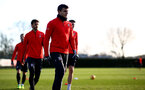 SOUTHAMPTON, ENGLAND - JANUARY 08: Mohamed Elyounoussi during a Southampton FC training session at the Staplewood Campus on January 08, 2019 in Southampton, England. (Photo by Matt Watson/Southampton FC via Getty Images)