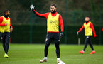SOUTHAMPTON, ENGLAND - JANUARY 15: Charlie Austin during a Southampton FC  training session at Staplewood Complex on January 15, 2019 in Southampton, England. (Photo by James Bridle - Southampton FC/Southampton FC via Getty Images)