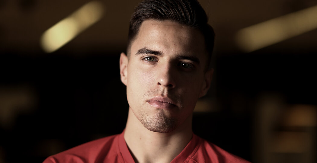 SOUTHAMPTON, ENGLAND - JANUARY 14: Southampton FC's Jan Bednarek pictured at the Staplewood Campus, for the club's match day magazine, on January 14, 2019 in Southampton, England. (Photo by Matt Watson/Southampton FC via Getty Images) (Photo by Matt Watson/Southampton FC via Getty Images)