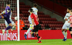 SOUTHAMPTON, ENGLAND - JANUARY 16: Stuart Armstrong's goal during the FA Cup Third Round Replay match between Southampton FC and Derby County at St Mary's Stadium on January 16, 2019 in Southampton, United Kingdom. (Photo by Chris Moorhouse Southampton FC/Southampton FC via Getty Images)