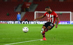 SOUTHAMPTON, ENGLAND - JANUARY 16: Tyreke Johnson of Southampton FC during the FA Cup Third Round Replay match between Southampton FC and Derby County at St Mary's Stadium on January 16, 2019 in Southampton, United Kingdom. (Photo by James Bridle - Southampton FC/Southampton FC via Getty Images)