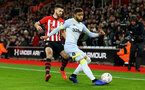 SOUTHAMPTON, ENGLAND - JANUARY 16: Shane Long during the FA Cup Third Round Replay match between Southampton FC and Derby County at St Mary's Stadium on January 16, 2019 in Southampton, United Kingdom. (Photo by James Bridle - Southampton FC/Southampton FC via Getty Images)
