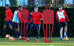 SOUTHAMPTON, ENGLAND - JANUARY 17: Matt Targett during a Southampton FC training session at the Staplewood Campus on January 17, 2019 in Southampton, England. (Photo by Matt Watson/Southampton FC via Getty Images)