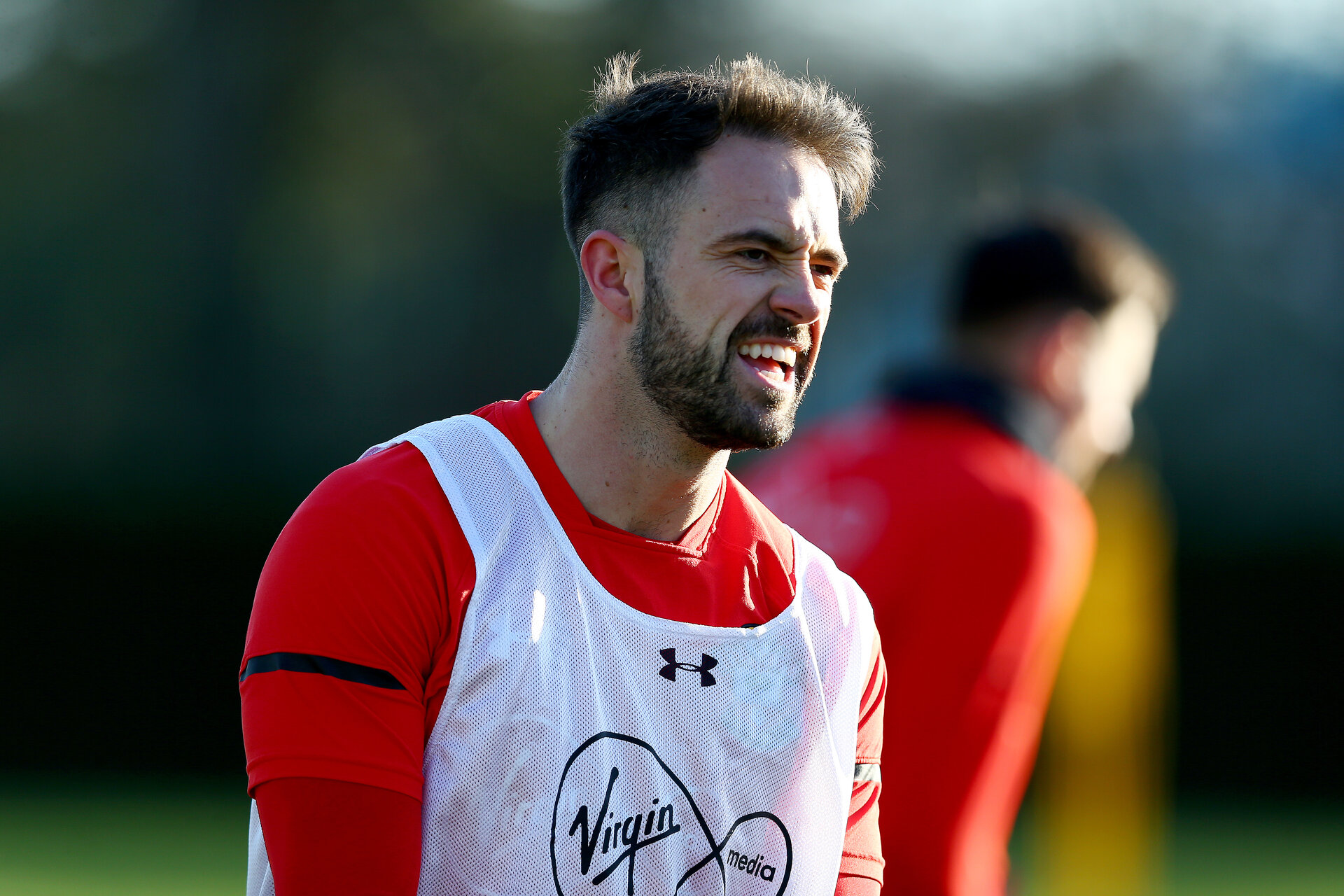 SOUTHAMPTON, ENGLAND - JANUARY 17: Danny Ings during a Southampton FC training session at the Staplewood Campus on January 17, 2019 in Southampton, England. (Photo by Matt Watson/Southampton FC via Getty Images)