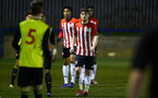 LONDON, ENGLAND - JANUARY 17:  Will Ferry during a  FA Youth Cup match between Watford FC and Southampton FC on January 17, 2019 in Watford, United Kingdom. (Photo by James Bridle - Southampton FC/Southampton FC via Getty Images)