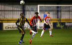 LONDON, ENGLAND - JANUARY 17:  Alex Jankewitz (middle) during a  FA Youth Cup match between Watford FC and Southampton FC on January 17, 2019 in Watford, United Kingdom. (Photo by James Bridle - Southampton FC/Southampton FC via Getty Images)