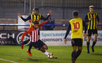 LONDON, ENGLAND - JANUARY 17:  Enzo Robise during a  FA Youth Cup match between Watford FC and Southampton FC on January 17, 2019 in Watford, United Kingdom. (Photo by James Bridle - Southampton FC/Southampton FC via Getty Images)