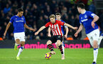 SOUTHAMPTON, ENGLAND - JANUARY 19: Stuart Armstrong during the Premier League match between Southampton FC and Everton FC at St Mary's Stadium on January 19, 2019 in Southampton, United Kingdom. (Photo by Matt Watson/Southampton FC via Getty Images)