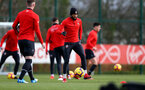 SOUTHAMPTON, ENGLAND - JANUARY 26: Nathan Redmond during a Southampton FC training session at the Staplewood Campus on January 26, 2019 in Southampton, England. (Photo by Matt Watson/Southampton FC via Getty Images)