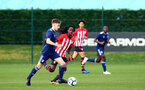 SOUTHAMPTON, ENGLAND - JANUARY 26: Taymar Fleary (middle) during the Under 18s match between Southampton FC and Fulham FC pictured at Staplewood Complex on January 26, 2019 in Southampton, England. (Photo by James Bridle - Southampton FC/Southampton FC via Getty Images)